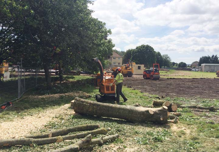 Site Clearance - Kingswood School
